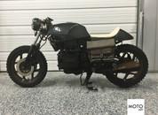"""(SOLD)(970)BMW k75 """"Steel Brick"""" Cafe Racer"""