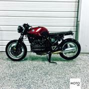 "(SOLD)(965) 1995 BMW K1100 Brat Style ""The Spandau"