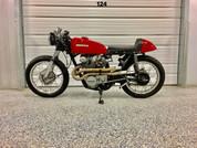(SOLD)(952) MOTO PGH Honda CB450 Cafe Racer
