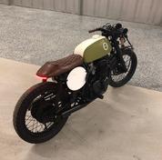 (SOLD)(901) 1973 Honda CB350F Cafe Racer