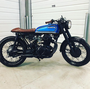 (SOLD)(896) 1972 Honda CB350 Cafe Racer