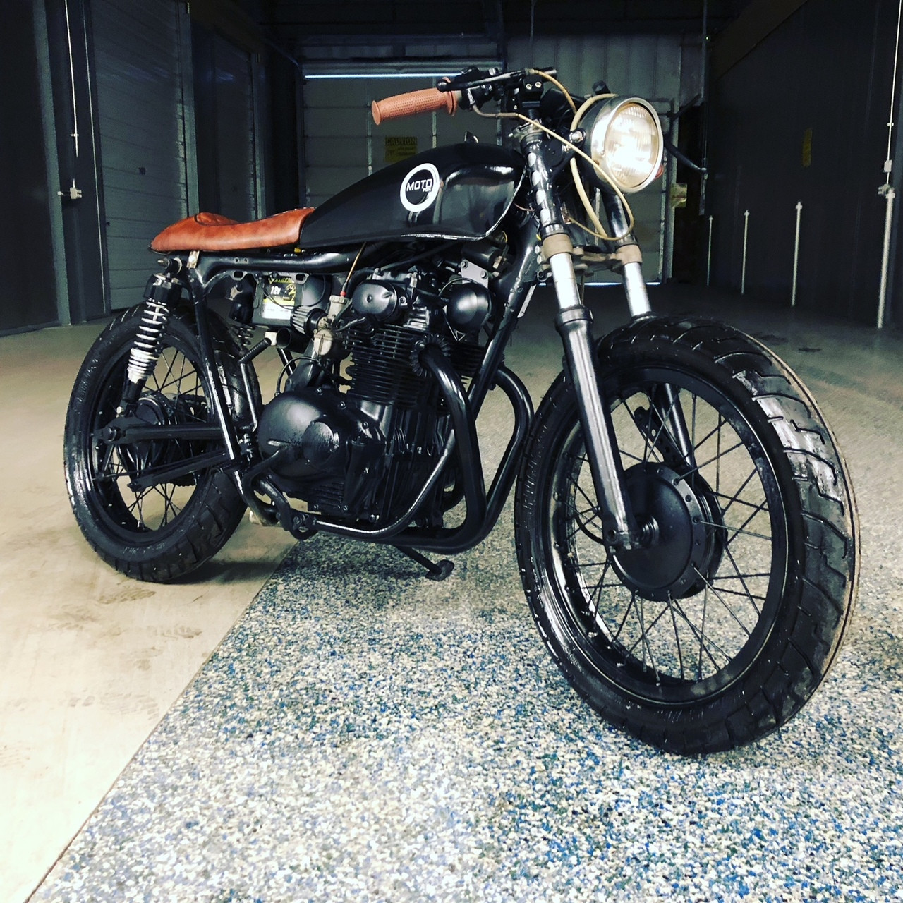 SOLD889 Honda CB350 Cafe Racer