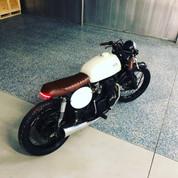 (AVAILABLE)(886) 1973 Honda CB350f Cafe Racer