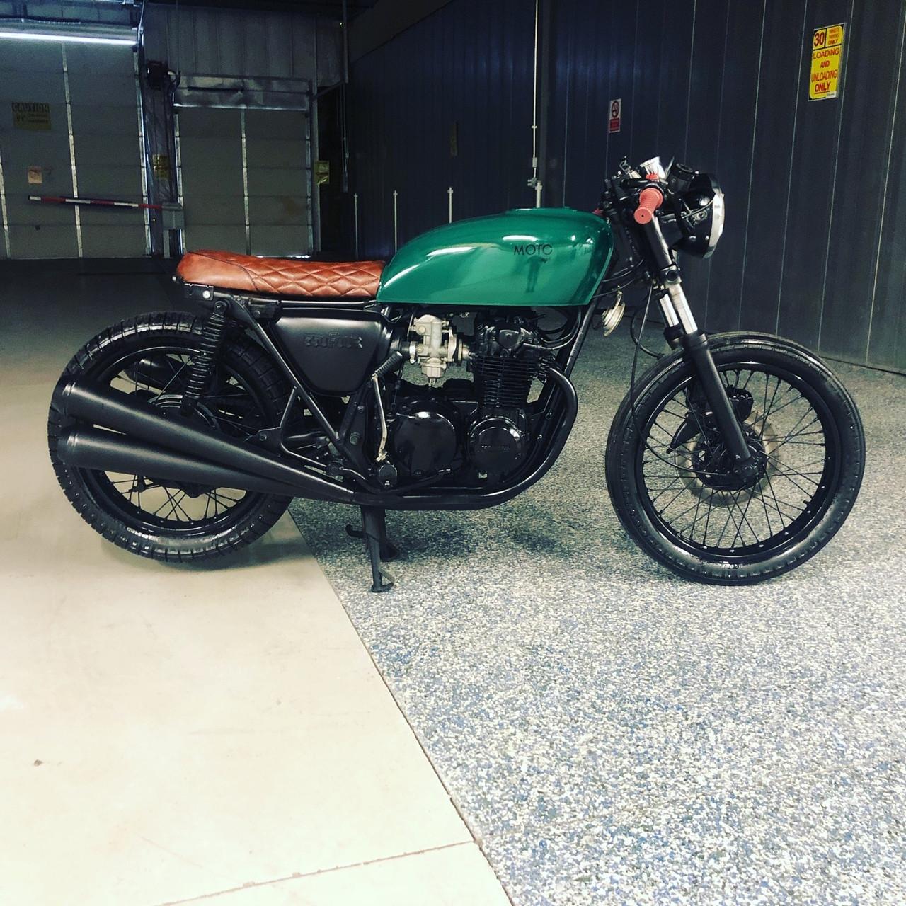 Sold 857 Honda Cb550 Cafe Racer Moto Pgh