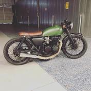 (SOLD)(842) Honda CB550 Cafe Racer