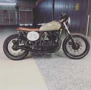 (SOLD)(838) Kawasaki KZ750 Cafe Racer