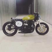 (SOLD)(831) Kawasaki KZ750 Cafe Racer