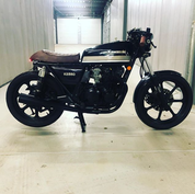 (SOLD)(820) Kawasaki KZ550 Cafe Racer