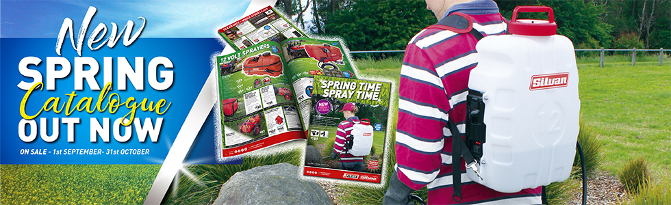 SILVAN Spring Catalogue Out Now