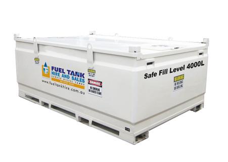 Self Bunded Diesel Fuel Tank 4500L