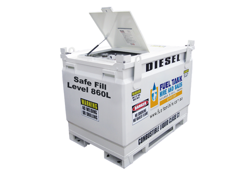 Self Bunded Diesel Fuel Tank 950 Litre