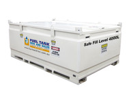 4500 Litre Self Bunded Diesel, Oil & Fuel Tank - NEW MODEL