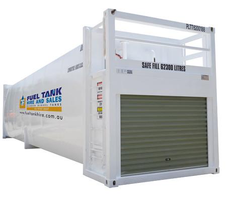 Self Bunded Diesel Fuel Tank 65,000 Litre