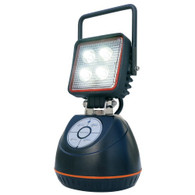 LED Rechargeable Worklight with Magnetic Base