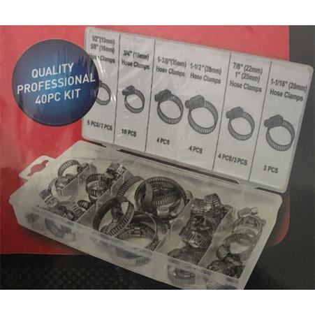 Hose Clamps Assortment Kit