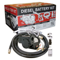 Gespasa Diesel Pump Kit 24V - 50lpm with Auto Nozzle