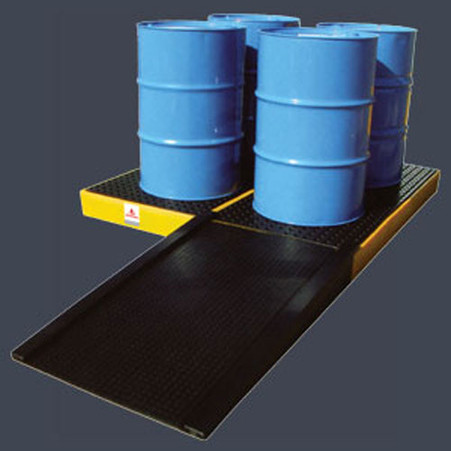 4 Drum work Floor Spill Containment