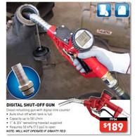 Diesel Auto Shutoff Nozzle with Meter