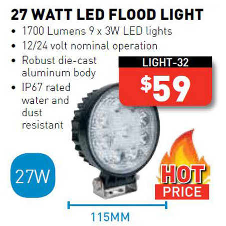 27 Watt LED Floodlight