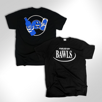 Retro Fueled By BAWLS Black Shirt