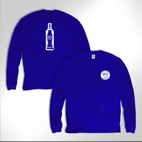 **NEW** Blue BAWLS Long Sleeve Shirt