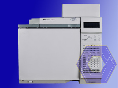 Agilent - Hewlett Packard 6890 Plus Gas Chromatograph with flame photometric detector