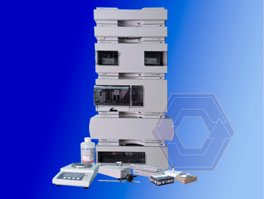 Agilent 1100 HPLC and THC extraction supplies