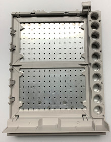 Vial tray for 2 plates plus 10 x 2 mL vials for Agilent G1367 autosamplers. Fits 1100 and 1200 Agilent HPLC models.