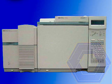 HP 5973 Mass Spectrometer with 6890 Plus Gas Chromatograph