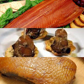 3 Piece Artisan Smoked Foods Assortment - Free Shipping! Ships Frozen. Take advantage of never before offered preferred pricing, and fill your freezer!