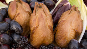 Whole Smoked Smoked Quail - 4 Bird Package