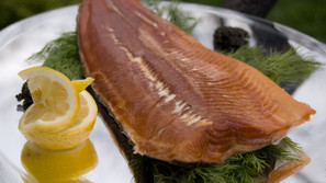 Natural Smoked Arctic Char Fillet