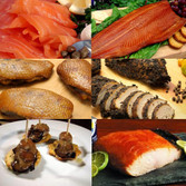 6 Piece Artisan Smoked Foods Assortment - Free Shipping! Ships Frozen. Take advantage of never before offered preferred pricing, and fill your freezer!