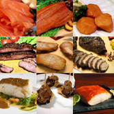 9 Piece Deluxe Artisan Smoked Foods Assortment -                              Free Shipping!!!  Take advantage of never before offered preferred pricing, and fill your freezer!