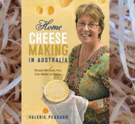 Home Cheese Making in Australia Book 2nd Edition- Valerie Pearson