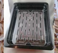 Plastic Draining Rack and Tray (set)