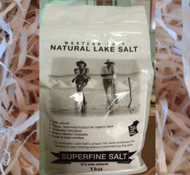 1kg Salt from Lake Deborah WA (Fine salt, no additives)  - 4kg limit applies to flat shipping rate