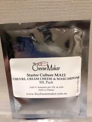 Chevre, Cream Cheese and Mascarpone Culture (MA11)