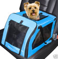 "Pet Gear Signature Dog Car Seat 20""L x 13""W - SP1020BA"