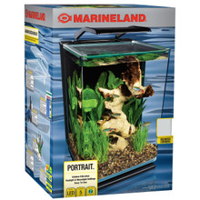 Marineland 5gal Portrait Glass LED Aquarium Kit