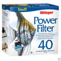 TETRA Whisper 40 Aquarium and Fish Tank Power Filter - FREE SHIP - WI25774