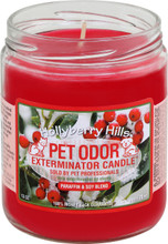Hollyberry Hills is a blend of bayberry and balsam with sweet notes of red berries. This scent is a seasonal favorite, guaranteed to get you in the holiday spirit.