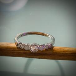 7 stone ring