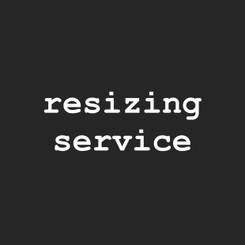 resizing service