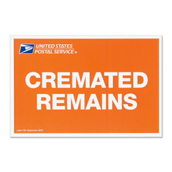 cremains prepaid domestic shipping kit