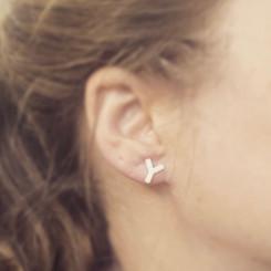 antibody stud earrings