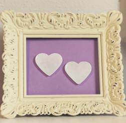cream picture frame