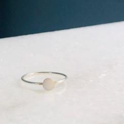 sterling dot ring