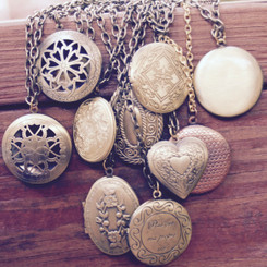 breast milk large locket kit