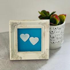 white square picture frame